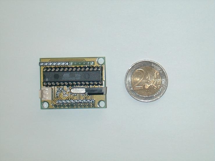 Atmel ATS0S4433 microcontroller node